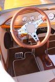 Interiors of classic car Stock Photos