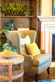 Interiors. Denver, Colorado, USA-August 7, 2014. Luxury interior of typical American suburban house Royalty Free Stock Image