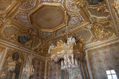 Interiors and details of Château de Versailles, France Stock Photos