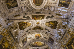 Interiors and details of Siena cathedral, Siena, Italy Stock Images