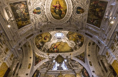 Interiors and details of Siena cathedral, Siena, Italy Stock Image