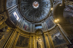Interiors and details of Siena cathedral, Siena, Italy Royalty Free Stock Images