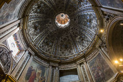Interiors and details of Siena cathedral, Siena, Italy Stock Photos