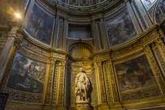 Interiors and details of Siena cathedral, Siena, Italy Royalty Free Stock Photos
