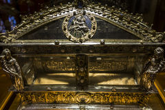 Interiors and details of Siena cathedral, Siena, Italy Royalty Free Stock Photo