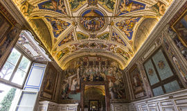 Interiors and details of the Vatican museum, Vatican city Royalty Free Stock Photos