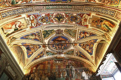 Interiors and details of the Vatican museum, Vatican city Stock Photography