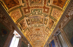 Interiors and details of the Vatican museum, Vatican city Royalty Free Stock Photography