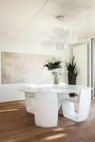 Interiors, dining room Royalty Free Stock Images
