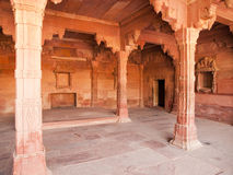 Interiors of Fatehpur Sikri, India Royalty Free Stock Image