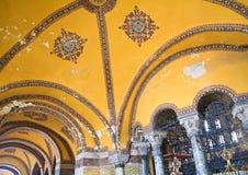 The interiors of the Hagia Sophia Hagia Sophia. Istanbul. Turkey Stock Photos