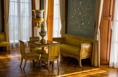 Interiors of halls in Vorontsov Palace Stock Photography