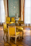 Interiors of halls in Vorontsov Palace in Alupka. The palace is built in 1848 royalty free stock photo