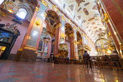 Interiors of Jasna Gora monastery in Czestochowa Stock Photos