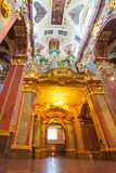 Interiors of Jasna Gora monastery in Czestochowa Stock Photography