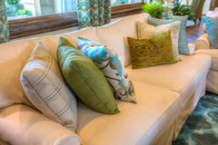 Interiors. Luxury interior of typical American suburban house Royalty Free Stock Photography
