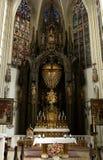 Interiors of Maria am Gestade Stock Photo