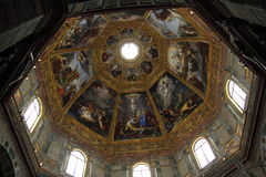 Interiors of Medici chapel, Florence Royalty Free Stock Images