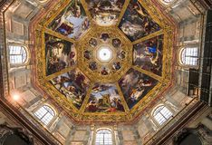 Interiors of Medici chapel, Florence, Italy Royalty Free Stock Photo
