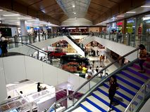 Interiors of the newly opened SM East Ortigas Mall. Royalty Free Stock Photography