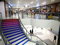 Interiors of the newly opened SM East Ortigas Mall. Stock Images