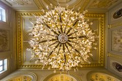 Free Interiors Of Royal Palace, Brussels, Belgium Stock Images - 43428334