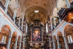 Free Interiors Of Saint Charles Borromee Church, Anvers, Belgium Stock Photos - 148522843