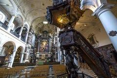 Free Interiors Of Saint Charles Borromee Church, Anvers, Belgium Royalty Free Stock Image - 50519336