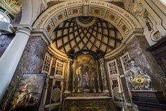 Free Interiors Of Saint Charles Borromee Church, Anvers, Belgium Royalty Free Stock Image - 50520616
