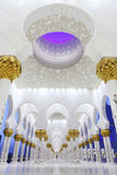 Interiors Of Sheikh Zayed Mosque, Abu Dhabi Royalty Free Stock Images