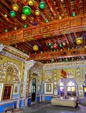 Interiors of Old Fort, India Royalty Free Stock Photos