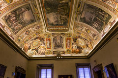 Interiors of Palazzo Barberini, Rome, Italy Royalty Free Stock Photo