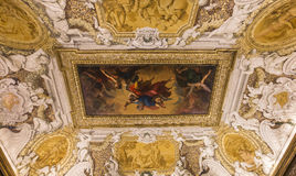 Interiors of Palazzo Barberini, Rome, Italy Royalty Free Stock Photography
