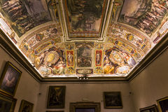 Interiors of Palazzo Barberini, Rome, Italy Stock Photos
