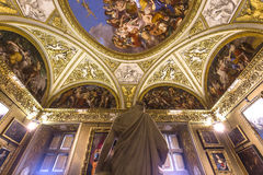 Interiors of Palazzo Pitti, Florence, Italy Stock Image