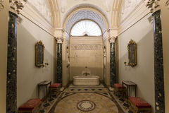 Interiors of Palazzo Pitti, Florence, Italy Royalty Free Stock Photo
