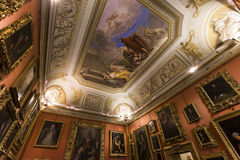 Interiors of Palazzo Pitti, Florence, Italy Stock Image