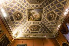 Interiors of Palazzo Pitti, Florence, Italy Stock Photo