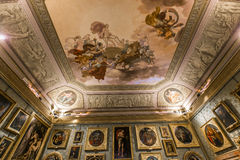 Interiors of Palazzo Pitti, Florence, Italy Stock Images