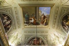 Interiors of Palazzo Pitti, Florence, Italy Stock Photography
