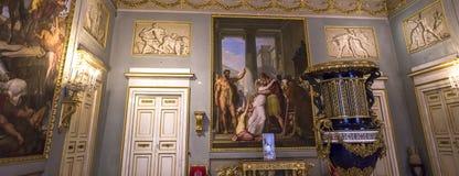Interiors of Palazzo Pitti, Florence, Italy Stock Photos