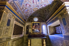Interiors of Palazzo Vecchio, Florence, Italy Royalty Free Stock Photo