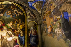 Interiors of Palazzo Vecchio, Florence, Italy Stock Images