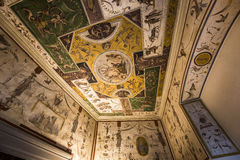 Interiors of Palazzo Vecchio, Florence, Italy Stock Image
