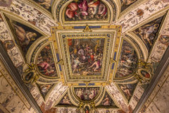 Interiors of Palazzo Vecchio, Florence, Italy Royalty Free Stock Images