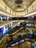 Interiors of Palladium Mall, Lower Parel, Mumbai. The Palladium Mall at the Phoenix Mills Compound, Senapati Bapat Marg, Lower Parel. Mumbai. HSP has added one Royalty Free Stock Photography