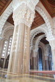 Interiors (praying hall) of the Mosque of Hassan I Royalty Free Stock Photos