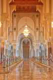 Interiors (praying Hall) Of The Mosque Of Hassan I Royalty Free Stock Photography