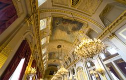 Interiors of Royal Palace, Brussels, Belgium Stock Photo