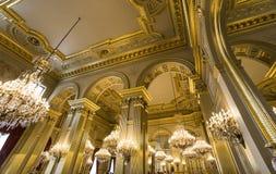 Interiors of Royal Palace, Brussels, Belgium. BRUSSELS – AUGUST 06 : An interior view of the Royal Palace in Brussels, Belgium, AUGUST 06, 2014 in Brussels Stock Photography